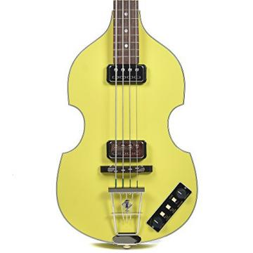 Hofner Gold Label Berlin 1962 Reissue 500/1 Violin Bass Yellow w/Tweed Case