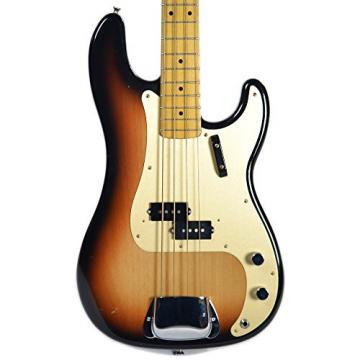 La Bella Olinto Bass 2 Tone Sunburst MN Relic
