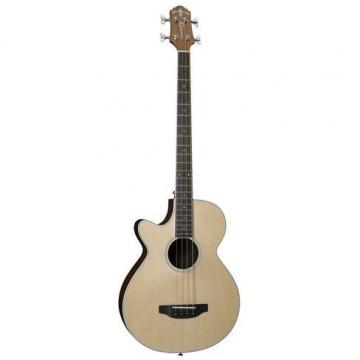 Crafter BA-400/EQ NAT L/HAND Electro-Acoustic Bass Guitar (Includes Deluxe Bag)