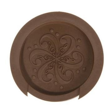 "Kingzer Sound Hole Cover Block Plug Screeching Halt for 40""/41"" EQ Acoustic Guitar Brown"