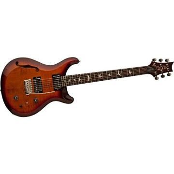 PRS S2 Custom 22 Semi-Hollow Electric Guitar Dark Cherry Sunburst