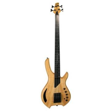 LightWave Saber Bass VL 4-String Fretless, Transparent Natural