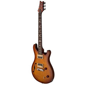 PRS SE Custom 22 Semi-Hollow, Vintage Sunburst with Gig Bag and guitarVault Accessory Kit
