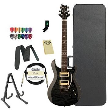 PRS CM4GBQFL30-KIT-2 30th Anniversary Floyd Custom 24 Electric Guitar, Grey Black