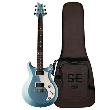 PRS MISD11_IF S2 Mira Electric Guitar, Ice Blue Fire Mist with Dot Inlays & Gig Bag