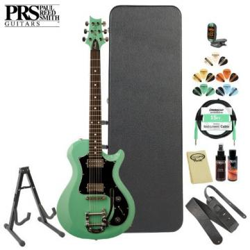 Paul Reed Smith Maryland-Made S2 Starla Seafoam Green Electric Guitar w/ Accessories & Hard Case