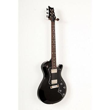 PRS T2SD06_BL S2 Singlecut Standard with Dots Solid-Body Electric Guitar, Black
