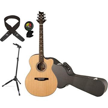 PRS A20ENA Angelus A20 Natural Acoustic Electric Guitar w/ Hard Case, Locking Stand, Tuner, and Lock-it Strap