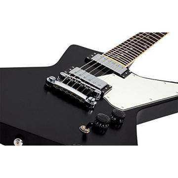 Schecter 1322 Solid-Body Electric Guitar, Black Pearl