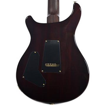 PRS CME Wood Library Custom 24 10 Top Quilt Obsidian w/Pattern Regular Neck