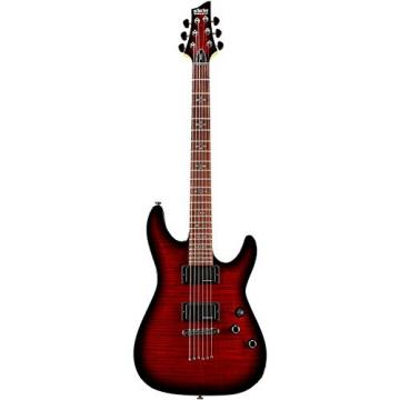 Schecter Guitar Research Demon-6 Electric Guitar Crimson Red Burst