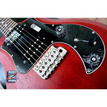 Paul Reed Smith S2 Standard 24VC Satin-Dots Electric Guitar, Vintage Cherry, NEW