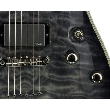 Schecter Damien Elite Electric Guitar - See Thru Black