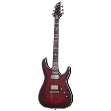 Schecter Hellraiser C-1 Extreme 6-String Electric Guitar, Crimson Red Burst Satin