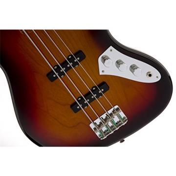 Fender Jaco Pastorius Jazz Electric Bass Guitar, Fretless, Rosewood Fretboard - 3-Color Sunburst