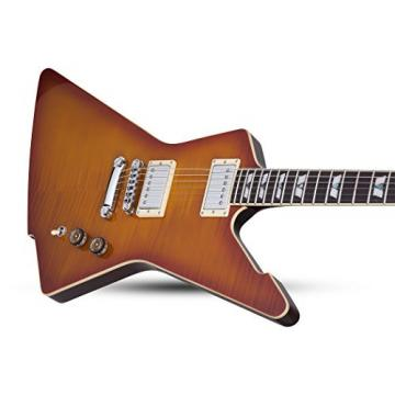 Schecter 1323 Solid-Body Electric Guitar, Honey Sunburst
