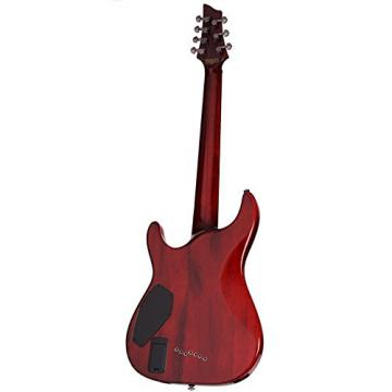 Schecter Hellraiser C-7 7-StringElectric Guitar (Black Cherry)