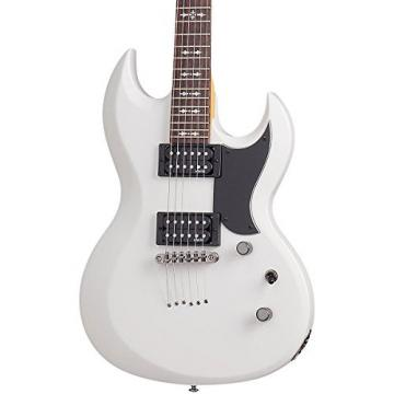 Schecter Omen S-II   Solid-Body Electric Guitar, White