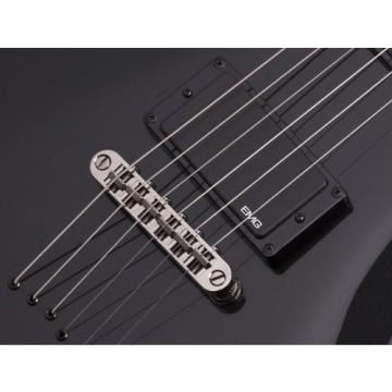 Schecter Damien Elite Solo Electric Guitar - Metallic Black