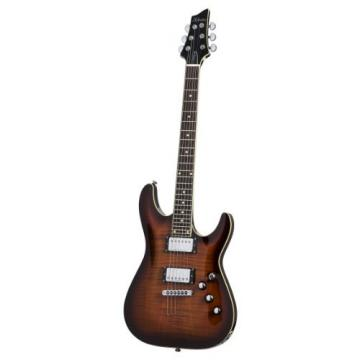 Schecter C-1 Standard Electric Guitar - Dark Brown Sun Burst