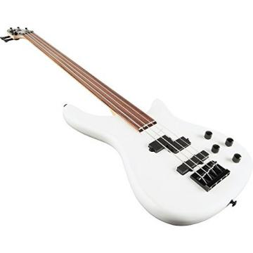 Rogue LX200BF Fretless Series III Electric Bass Guitar Pearl White