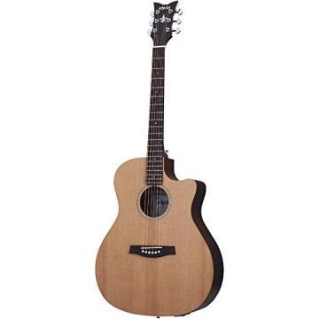 Schecter 3715 Acoustic Guitar, Natural Satin