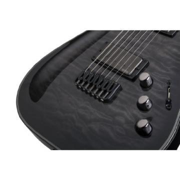 Schecter 1924 Hellraiser Hybrid C-7 TBB Electric Guitars
