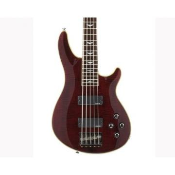 Schecter Omen Extreme-5 Bass Guitar (Black Cherry)