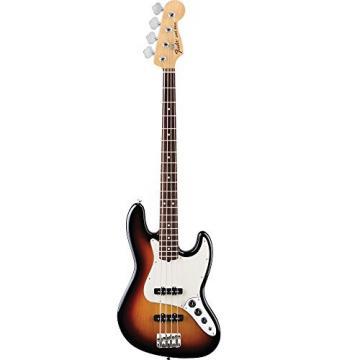Fender American Special Jazz Bass Electric Guitar, 3 Tone Sunburst, Rosewood Fretboard