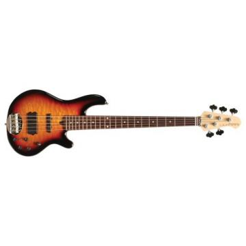 Lakland Skyline Series 55-02Q 5-Strings Bass Guitar, Three Tone Sunburst
