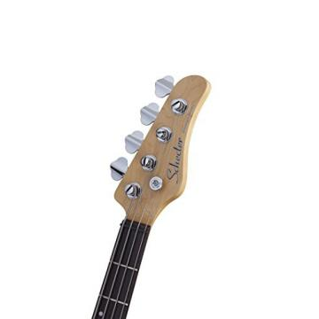 Schecter 2490 4-String Bass Guitar, Gloss Natural