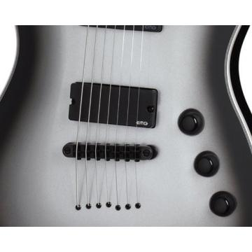 Schecter Chris Garza Signature 7-string Electric Guitar Silverburst