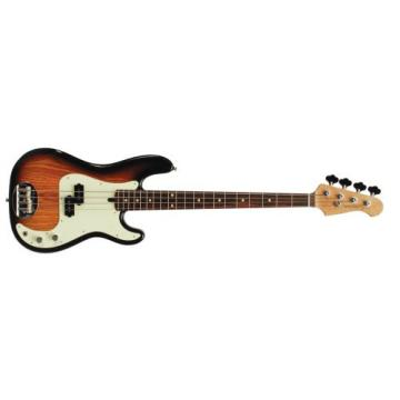 Lakland Skyline Series 44-64 4-Strings Bass Guitar, Three Tone Sunburst