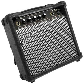 Belcat Slim-15B 15-Watt Slim Profile Electric Bass Guitar Amplifier with Built-In Tilt Stand
