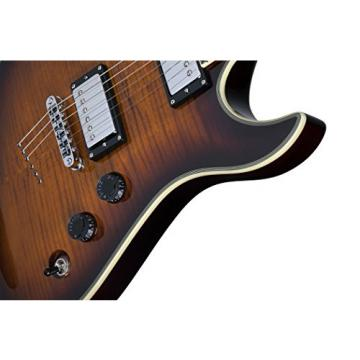 Schecter Avenger Custom Solid-Body Electric Guitar, TSB
