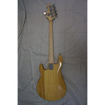 Bass Guitar, 5 String, natural wood body, new, active pickups