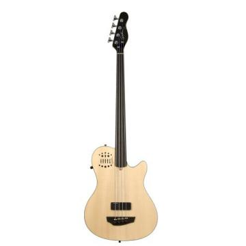 Godin A4 Ultra Fretless Bass - Natural SG EN SA