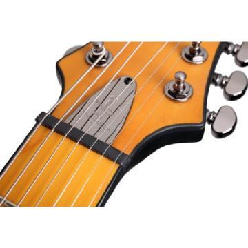 Schecter Jeff Loomis JLV-7 NT Left Handed 7-String Electric Guitar, Satin Black