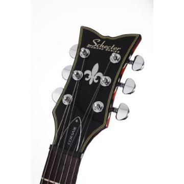 Schecter Corsair Electric Guitar (Gloss Walnut)