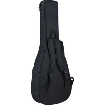 Ortega Guitars D-WALKER-RD Deep Series Extra Short Scale Acoustic Bass with Agathis Top and Body