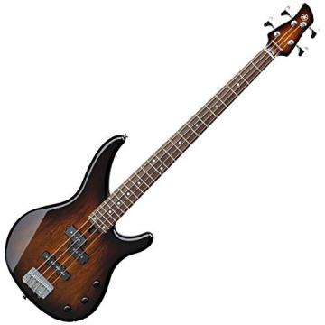 Yamaha TRBX174EW TBS ELECTRIC BASS TABACCO BROWN SUNBURST w/ Gig Bag and Stand