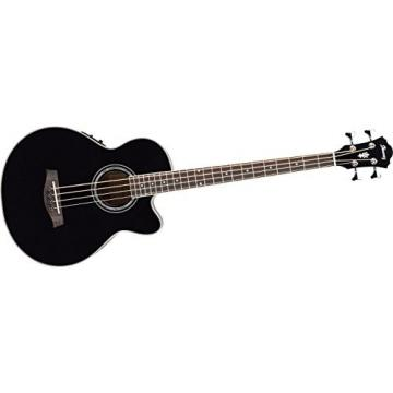Ibanez AEB10EBK Acoustic Electric Bass, Black