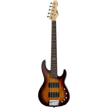 ESP E-II AP-5 - Tobacco Sunburst 5 String Bass