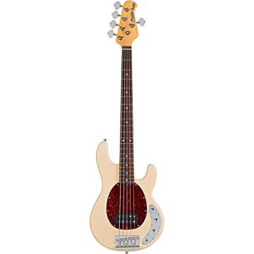 Sterling by Music Man RAY35CA 5-String Electric Bass Guitar Vintage Cream