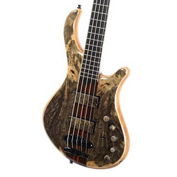 Mayones Patriot 5 35th Anniversary Buckeye Burl w/Hardshell Case