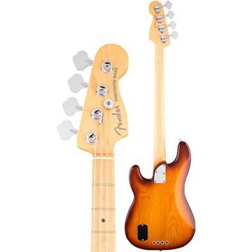 Fender American Elite  Precision Bass, Ash - Tobacco Sunburst