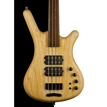 Warwick German Pro Series Corvette $$ Electric Bass, Natural Oil FInish