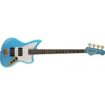 Stagg BM350-SNB 4 String M-Style Electric Bass Guitar - Sky Blue