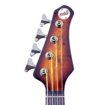 "MTD Kingston ""The Z"" Bass Guitar (4 String, Rosewood/Tobacco Sunburst)"