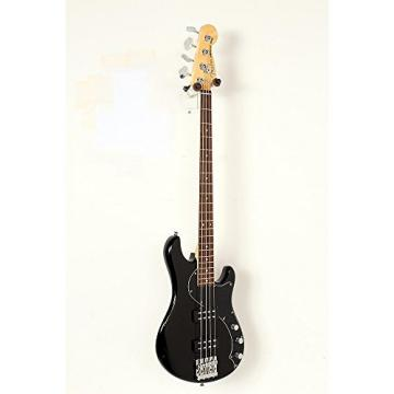 Fender American Standard HH Dimension Bass IV Rosewood Fingerboard Electric Bass Guitar Level 2 Black 190839067005